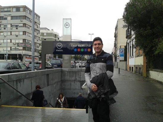 Hotel da Musica: la estación de metro más próxima al hotel