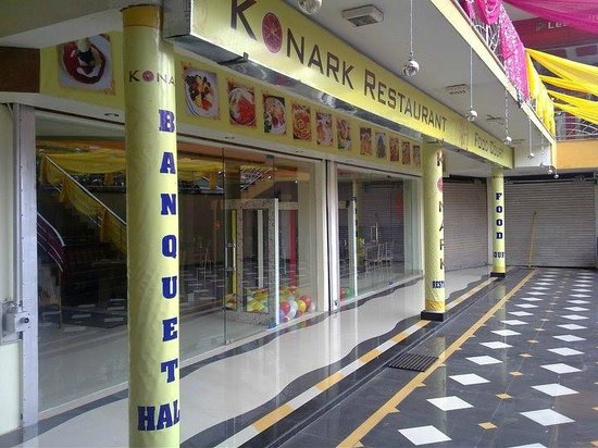 Konark restaurent & Food Court: This is a new Hotel next to Bikaner Railway Station in a shopping complex, Good food, lovely amb