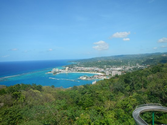 Rainforest Adventures Jamaica: View from the top