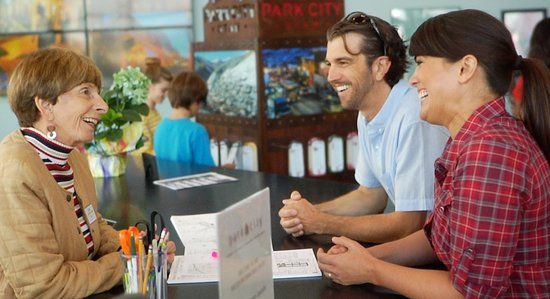 Park City Visitor Information Center : Meet our experienced staff at the Visitor Center
