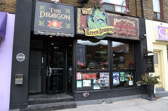 The Green Dragon Pub