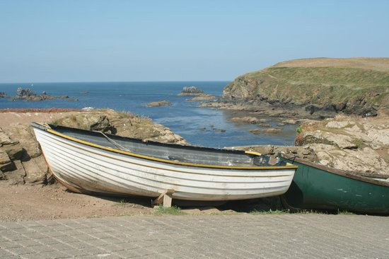 The Lizard and Kynance Cove : Cliffs at Lizard Point