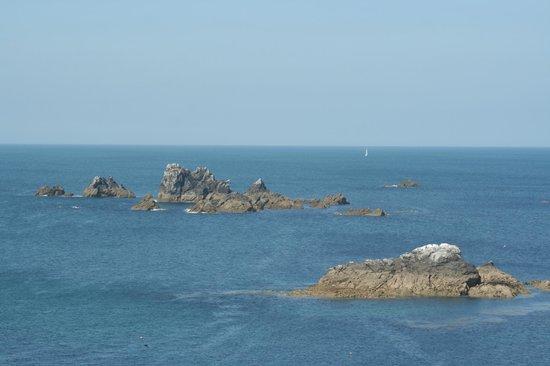 The Lizard and Kynance Cove : Lizard Point Rocks