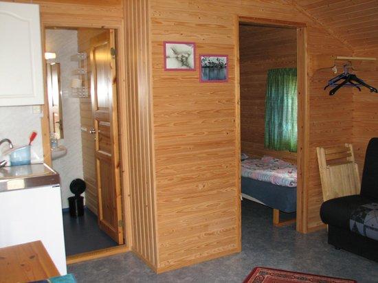 Nordkapp Caravan Og Camping : Внутреннее устройство домика.