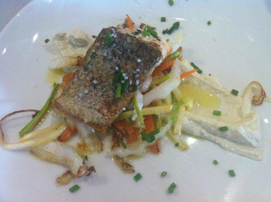 Bar Europa: salmon