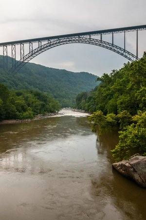 New River Gorge Bridge: View from the New River