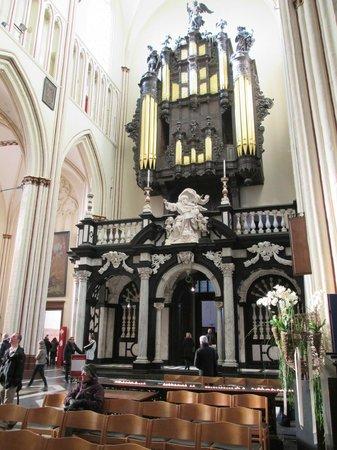 Organ Holy Savior Cathedral (Sint-Salvatorskathedraal)