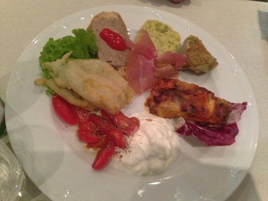 Osteria Gallo d'Oro : from the land entree