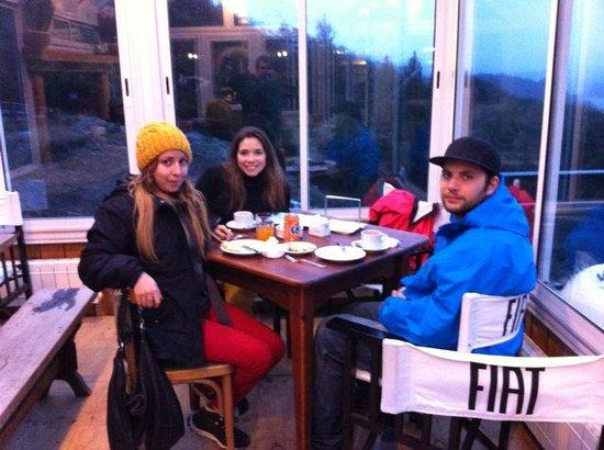 Punto Panoramico (Mirador & Bar): tomando un cafe en una tarde fresca
