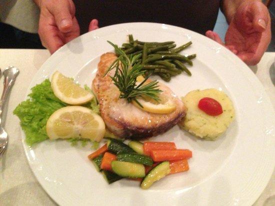 Osteria Gallo d'Oro : fish main course