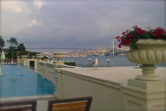 Ciragan Palace Kempinski Istanbul: outdoor pool and B.