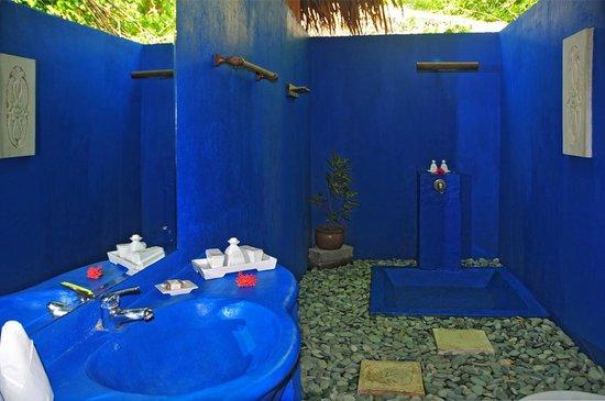 Siladen Resort & Spa: offenes Badezimmer