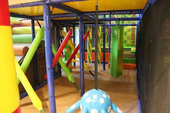 Funky Monkeys Play Center - Lower Parel: Junior Zone Entrance