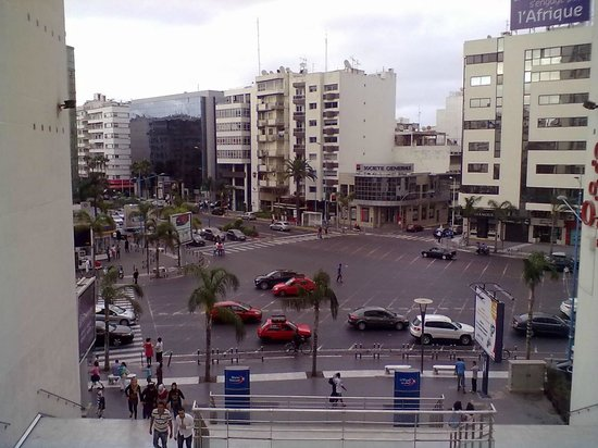 Casablanca, Maroko: View from Twin Center terrace