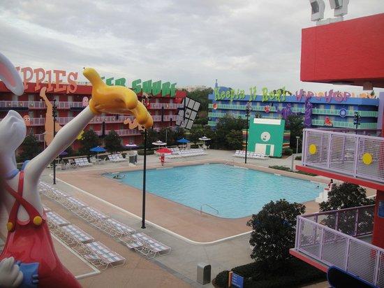Disney's Pop Century Resort: Área de lazer