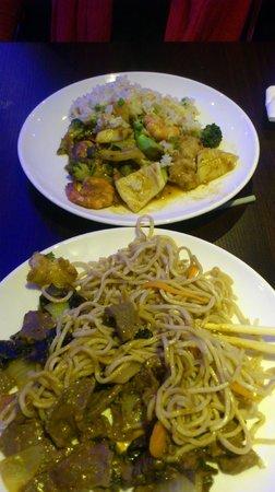 Chiang Mai : plats préparés au wok
