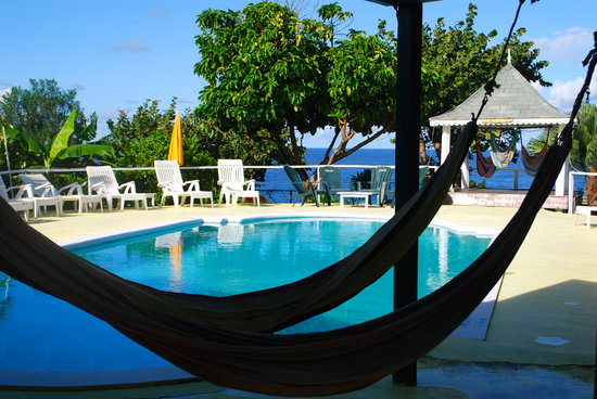 Hotel Jamaican Colors: hammocks / pool / relaxation area