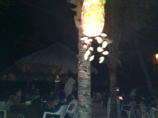 La Buena Vida Restaurant: Overview of the restaurant with the nice lamps
