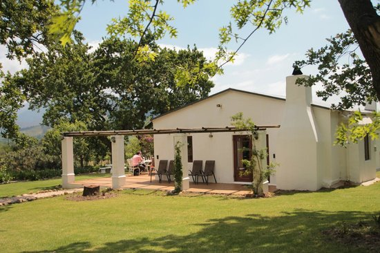 Bo La Motte Farm Cottages: Goose cottage