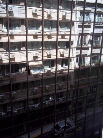 Concorde Hotel : vista da janela do quarto