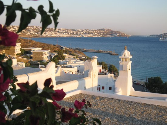 Grace Mykonos Hotel: View from our room