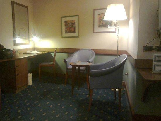 Hotel Del Campo: il salottino
