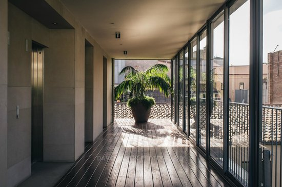 Mercer Hotel Barcelona: Pool entrance