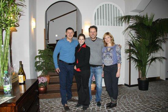 Hotel Residence Agnes: Наши друзья!
