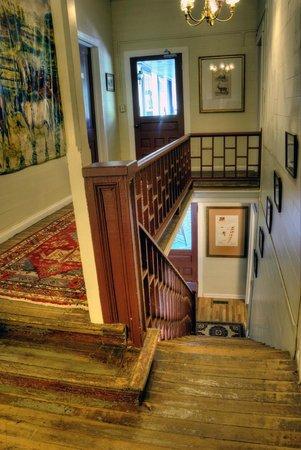 The York House Inn: Interior Stairway