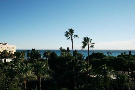 B4 Plaza Nice : Da uno dei balconi che danno sul Mare