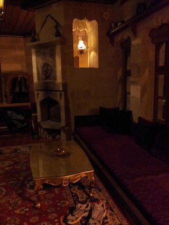 Museum Hotel: Living room