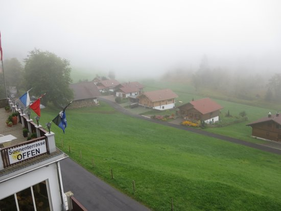 Hotel Restaurant Hammer : View fm room (foggy morning)
