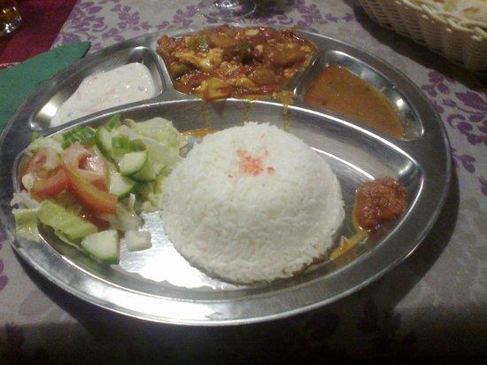 Nagarkot: Delicious tofu stew.