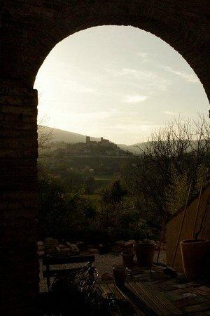 Villa San Raffaello: patio area