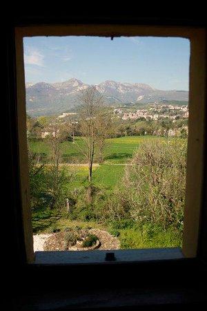 Villa San Raffaello: view from window