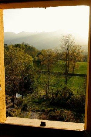 Villa San Raffaello: view from the window