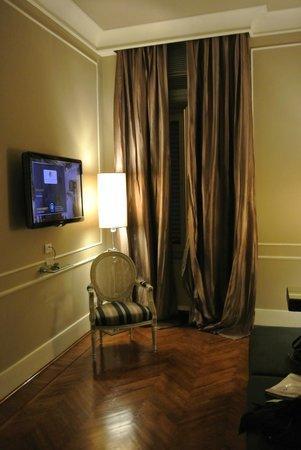 Hotel Brunelleschi: Living area