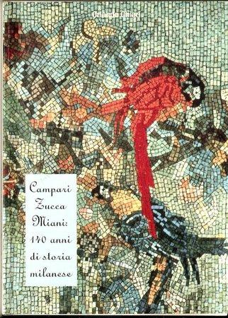 Camparino in Galleria: copertina del libretto che racconta la storia del Camparino/Zucca