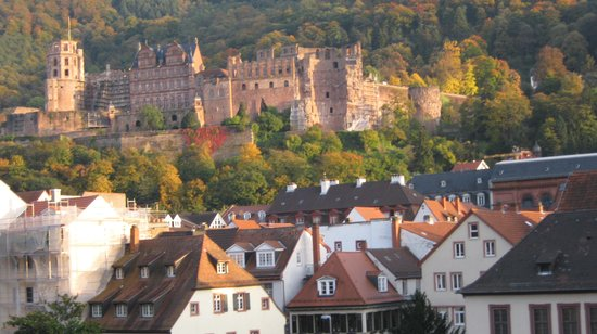 Heidelberg Marriott Hotel: Castle