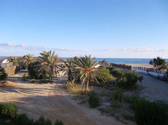 Seabel Rym Beach : Vue de notre chambre