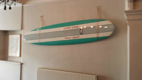 Watergate Bay Hotel: Wall Decorations