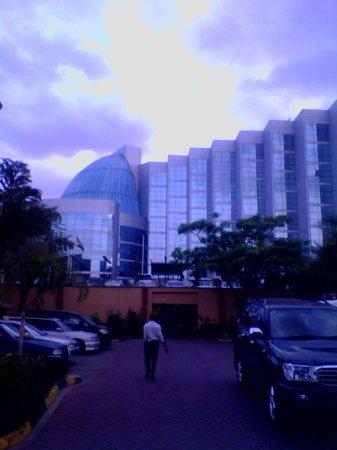 The Boma Nairobi: View of the main building at Boma Hotel