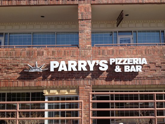 Parry's Pizza: We're in a familiar location to those in our hood. You know, where Mel's used to be.