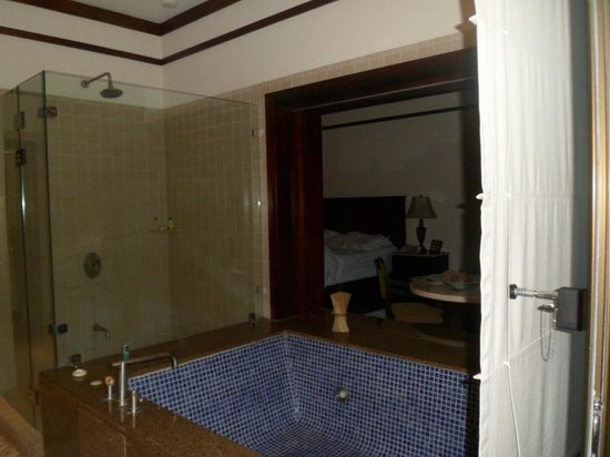 Tabacon Thermal Resort & Spa: Hot tub in the Rainforest Suite