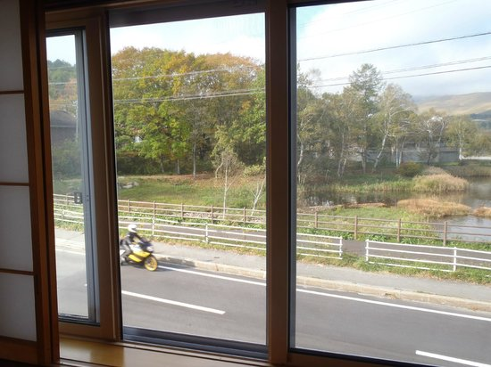 Kimimatisou: 白樺湖が見える眺望