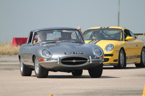 U Drive Cars: E Type Jaguar, Heyford Park