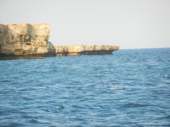 Cape Greco (Cavo Greco) : вид с моря