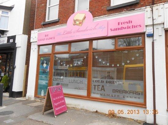 The Little Sandwich Shop: Our shop front