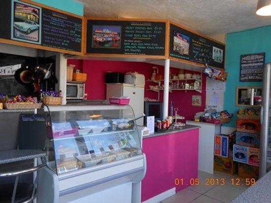 The Little Sandwich Shop: Inside our little shop