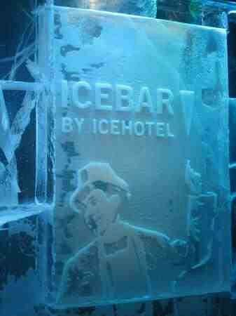 Sheraton Stockholm Hotel: You have to go to the ice bar.